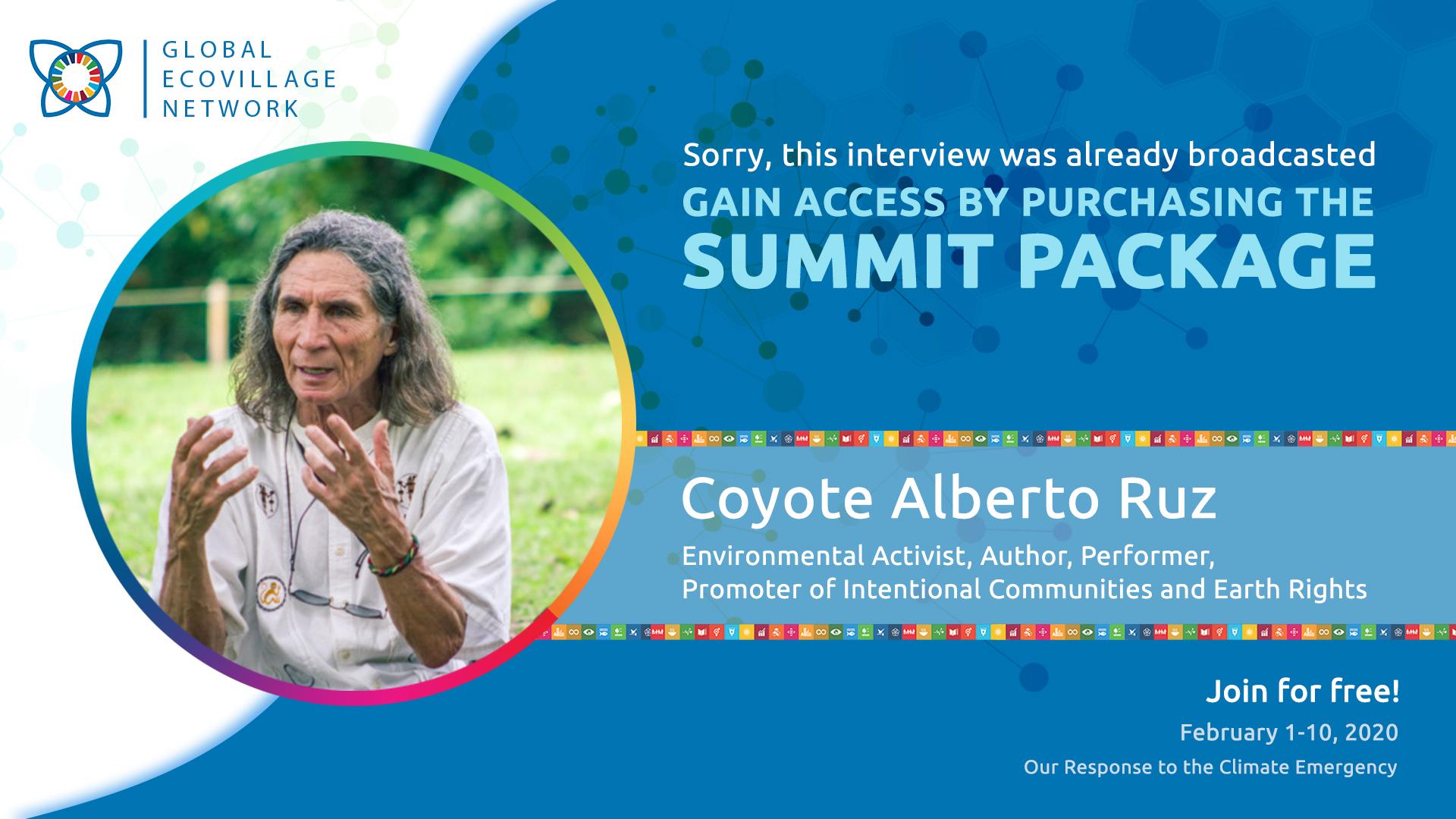 Coyote Alberto Ruz