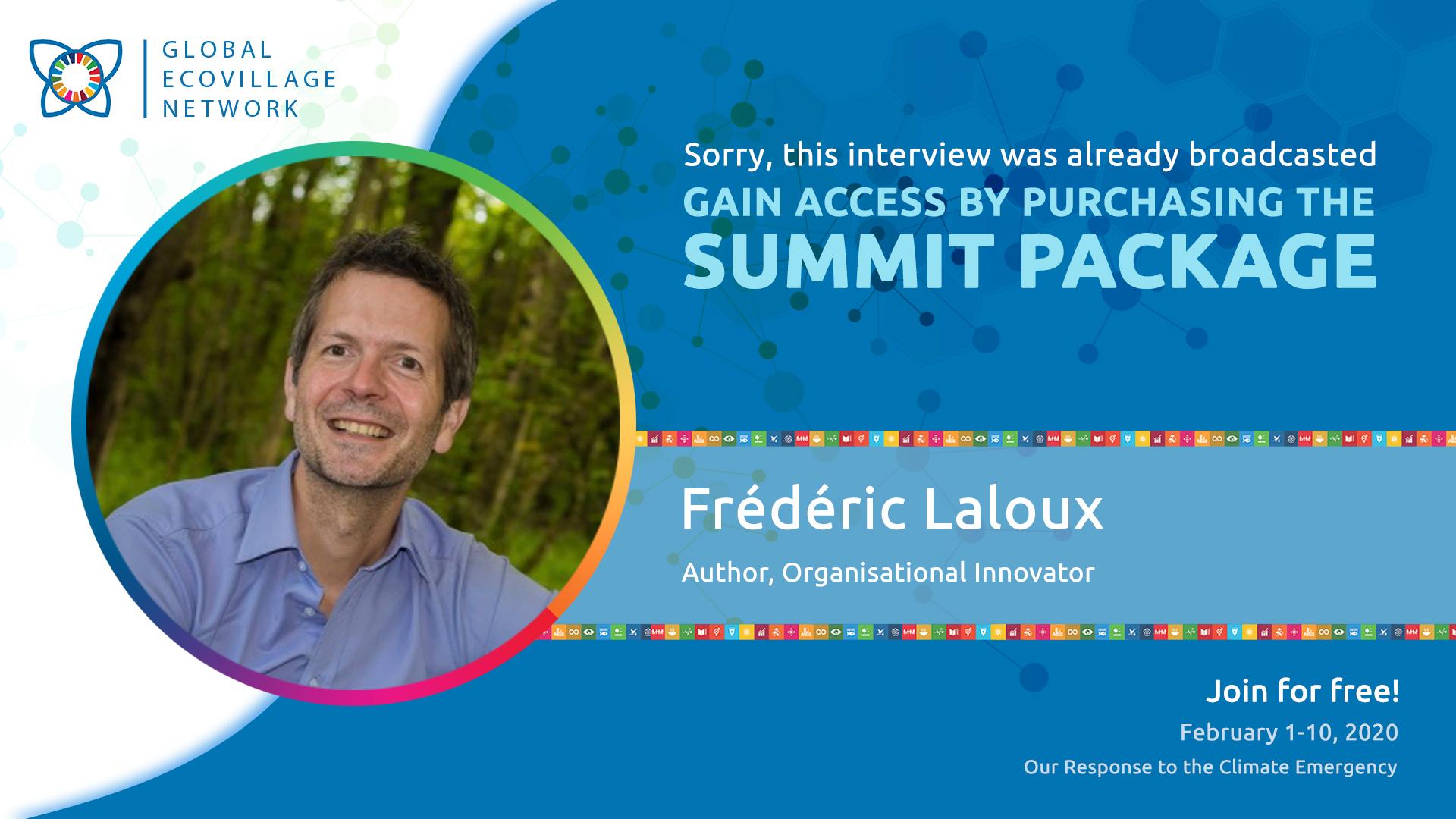 Frédéric Laloux