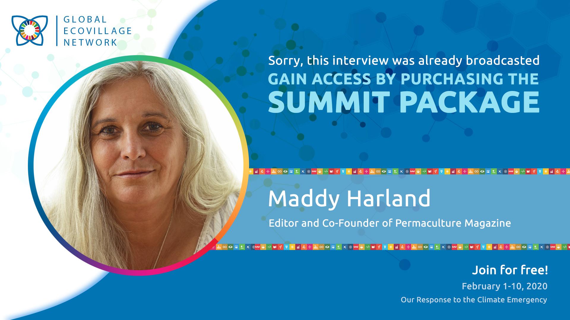Maddy Harland
