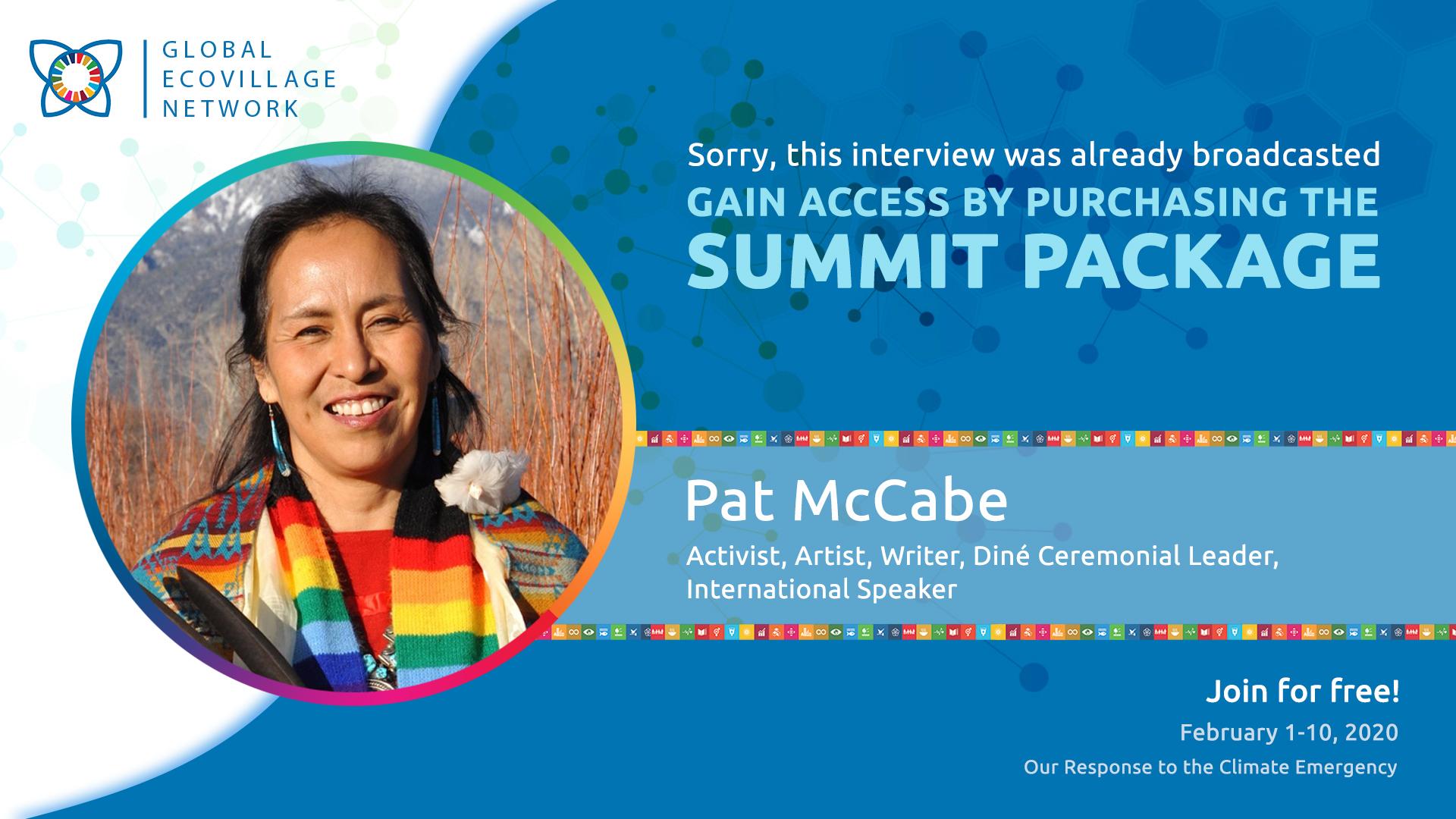 Pat McCabe