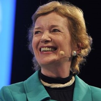 Speaker - Mary Robinson
